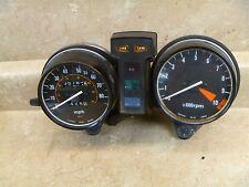 Honda 650 CB CUSTOM CB650 Used Speedometer Tachometer Gauges 1981 Vintage HB127