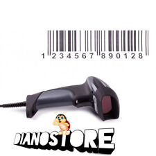 ANO LETTORE CODICE A BARRE BARCODE SCANNER PISTOLA LASER SCANNER USB WINDOWS MAC