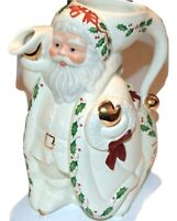 Lenox HOLIDAY Santa Collection Pitcher NEW IN BOX