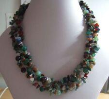 Handmade Agate Beaded Costume Necklaces & Pendants