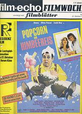 film-echo Filmwoche Nr. 61 1978 Popcorn Himbeereis Zachi Noy Olivia Pascal Benny