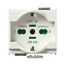 VIMAR IDEA 16210.B PRESA 2P+T 16A UNIVERSALE BIANCO