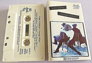 Tina Turner - Foreign Affair - 1989 Oz Album Cassette
