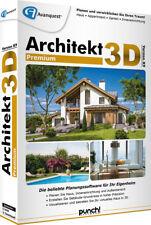 Architekt 3D X9 Premium CD/DVD Win Haus Appartement Garten EAN 4023126119421