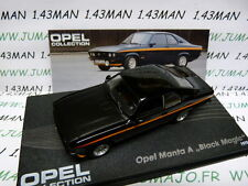 OPE35R voiture 1/43 IXO eagle moss OPEL collection : MANTA A Black magic