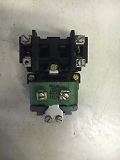 GE CR2810A14AA USED 2P 120V COIL N/O CONTACTORS SEE PICTURES MISSING SCREW #B55