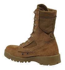 Bellevillle 500 USMC Marine Corp Hot Weather Olive Tan Gore-Tex Boots No LACES