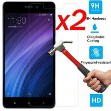 For XiaoMi Redmi 4 / 4 Pro Prime 9H Premium Tempered 2Pcs Glass Screen Protector