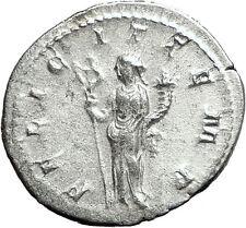 GORDIAN III 240AD Authentic Genuine Ancient Silver Roman Coin Felicitas  i59058
