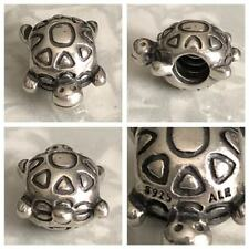 PANDORA SMILING HAPPY TURTLE CHARM REF 790158 S925 ALE NOW DISCONTINUED