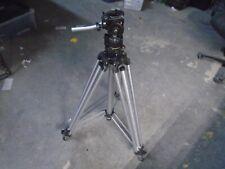 Manfrotto Bogen 3040 Aluminum Professional Camera Tripod w/ 3063 Video Head