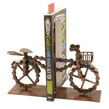 Fairtrade Upcycled Bike Chain Bookends / Holder - Ethical Handmade Display Gift