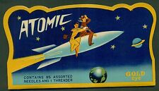 1950's Atomic Needle Case Rocket Ship - Made in Japan