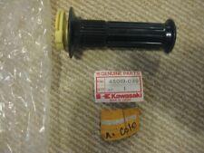 KAWASAKI THROTTLE GRIP 46019-005 66-70 A7SS OEM NOS 1975  KV75 C1020-3201