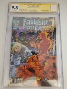 FANTASTIC FOUR #6 (CGC 9.8) 1997 V2; SIGNED by JIM LEE & SCOTT WILLIAMS!