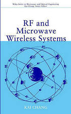 USED (GD) RF Microwave Wireless Systems by Kai Chang