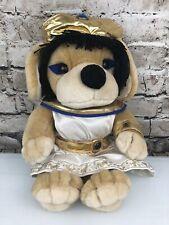 "Rare FAO SCHWARZ Dog Egyptian Plush Stuffed Animal Cleopatra 17"" Egypt Costume"