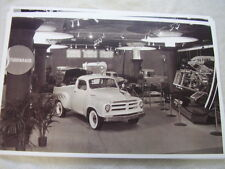 1955  STUDEBAKER TRUCK DISPLAY   11 X 17  PHOTO /  PICTURE