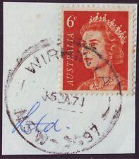 "NSW POSTMARK ""WIRKINYA"" DATED 1971 (A7008A)"