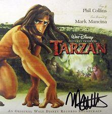 TARZAN (1999) Disney CD SOUNDTRACK Score + Songs AUTOGRAPHED BY MARK MANCINA!