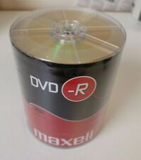More details for maxell dvd-r blank recordable digital disc dvdr 4.7gb 16x speed 120mins 100 pack