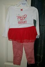 NWT Baby girls Christmas Outfit size 9 months