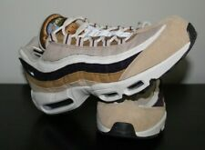 huge discount 8c2bc 5bce9 Nike Mens Air Max 95 Premium Shoes Desert Brown Tan Suede 538416-205 Mens Sz