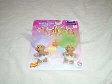 New In Package Blushing Baby Trolls With Green And Whitish Hair