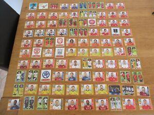 Gros lot 100 images différentes FOOTBALL PANINI EURO 2020 Tournament av RONALDO
