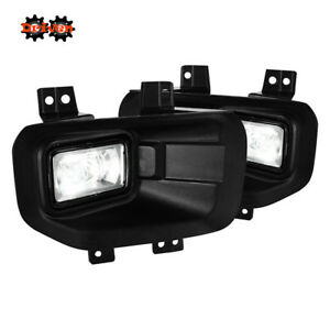 15-16 Ford F150 Pick up LED OE Style Clear Fog Light Only FX4 4x4 2WD All