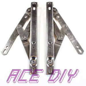 PVC Window Hinges Top Hung | Stainless Steel Friction Stay Easy Movement Hinge