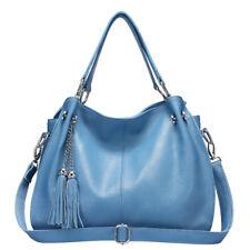 Women Leisure Cowhide Leather Handbag Tote Bags Outdoor Shoulder Crossbody Bags