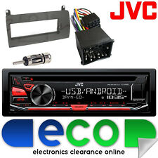 Rover 75 1999-2005 Jvc Cd Mp3 Usb Aux Ipod auto estéreo RADIO Facia Kit de montaje 1