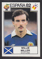 Panini - Espana 82 World Cup - # 406 Willie Miller - Scotland