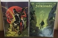 FOLKLORDS #2 FIRST PRINT AND FOC VARIANT - SOLD OUT!!! Boom! Studios 2019 *NM*