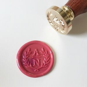 Personalized Olive Tree Design Wax Seal Stamp
