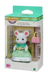 Sylvanian Families Town Girl Series Marshmallow Mouse