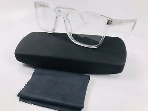 New SUCCESS XPL NOAH Clear Crystal Eyeglasses 55-17-145 with Case & Cloth