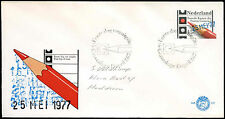 Netherlands 1977 Elections To Lower House FDC First Day Cover #C27600