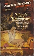 Blond on a Broomstick, Carter Brown Mystery