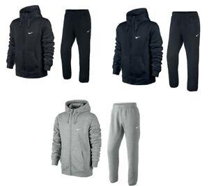 Nike Men's Sportswear Club Zipped Hoody and Joggers Tracksuit 611456 / 611459