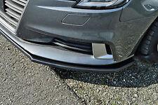 Sonderaktion Spoilerschwert Frontspoiler Lippe ABS für Audi A3 8V Facelift ABE
