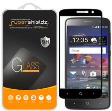 2x Supershieldz for ZTE ZMax One Full Cover Tempered Glass Screen Protector
