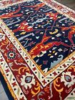 Modern Oushak Rug Handmade in India, Primary Colors,Soft Pile, High Quality,8x10