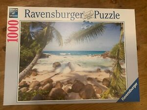 Ravensburger 1000 Piece Jigsaw Puzzle Seaside Beauty Preowned
