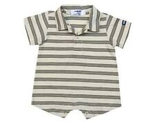 Oshkosh B'gosh Stripes Romper w/ Collar (RWC-12) Infant/Baby Boy Clothes, 3 mos