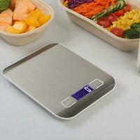 5/10Kg Kitchen Scale Electronic Food Scales Diet Scales Scale Measure LCD I3J7