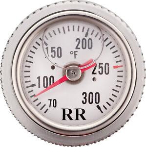 Oil Dipstick Thermometer for Yamaha SR TT XT BMW Fahrenheit White 99-086