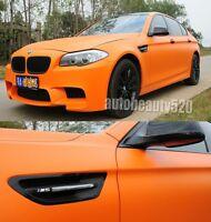 Whole Car Wrap - Hot Flat Metallic Matte Vinyl Sticker Orange Decal 50FT x 5FT