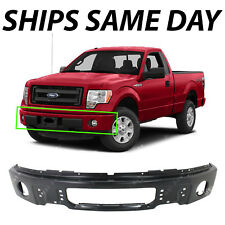NEW Primered - Steel Bumper Face Bar Fascia for 2009-2014 Ford F150 W/ Fog 09-14